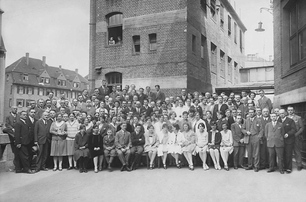 La première équipe pédagogie Steiner-Waldorf