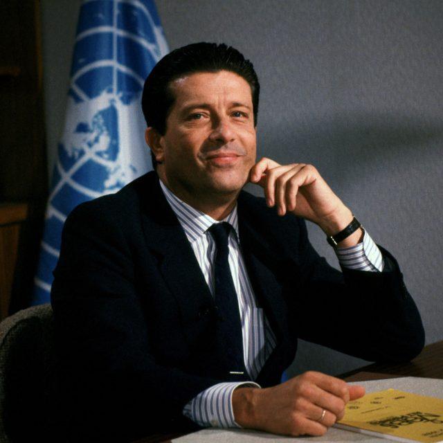 Fréderico Mayor, directeur général de l'UNESCO