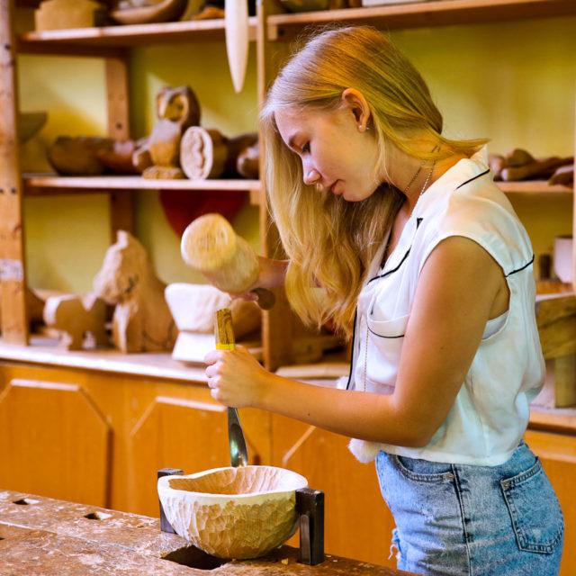 Les nombreuses pratiques artisanales au collège Steiner-Waldorf