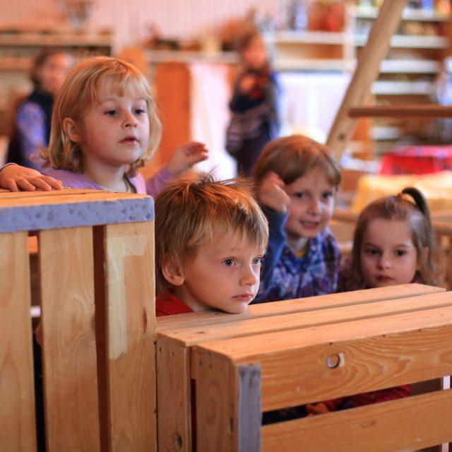 Apprentissage du vivre ensemble au jardin d'enfants