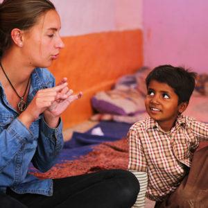 pédagogie Steiner Waldorf au Rajasthan