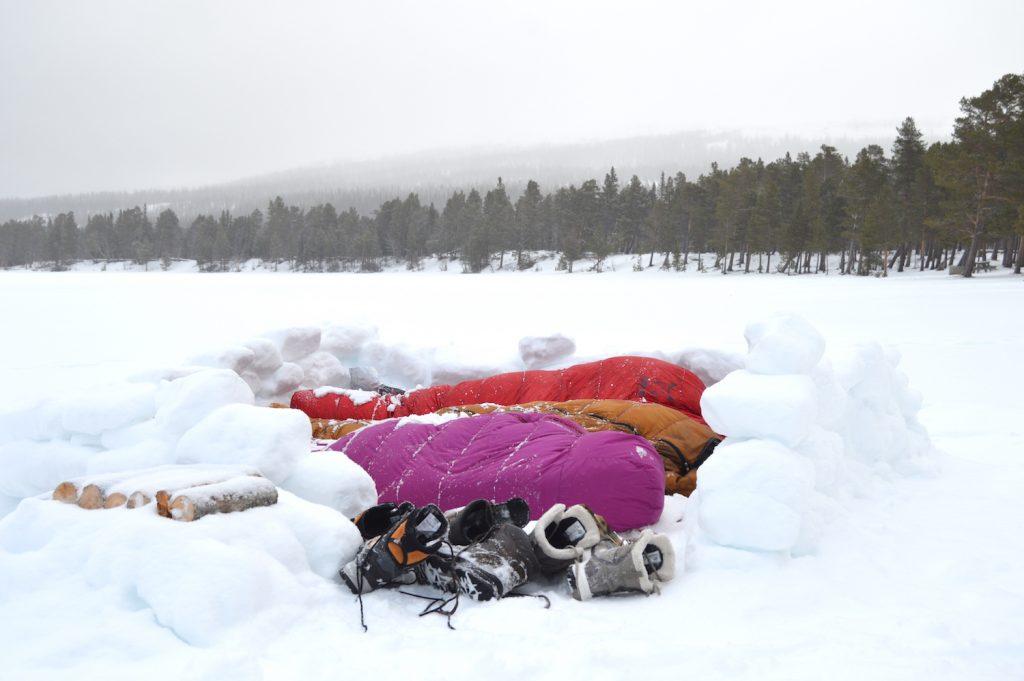 Dormir à la belle étoile en Suède